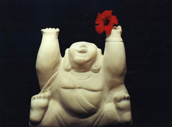 Little Buddhas by Atit Maria