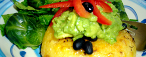 Polenta with a Mexican Twist