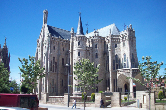 Gaudy Palace in Astorga