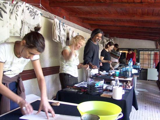 070 calligraphy workshop