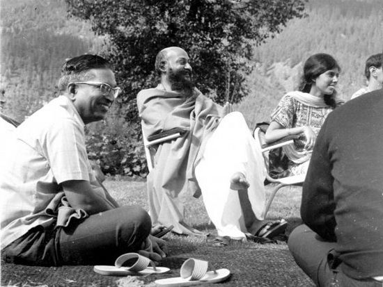 Osho with Neelam