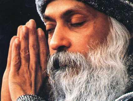 Osho photo chosen by Vasco Rossi
