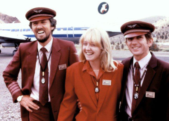 Prasad, Cliff and stewardess