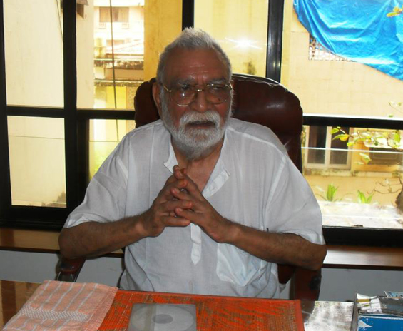 Prakash in 2011, CD of the Bardo on his desk