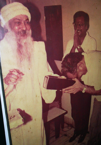 Suraj Prakash with Osho