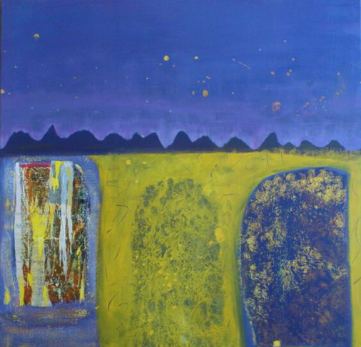 1001 Night, 2011, acrylics on canvas