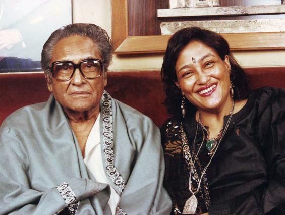 Preeti with her dad Ashok Kumar