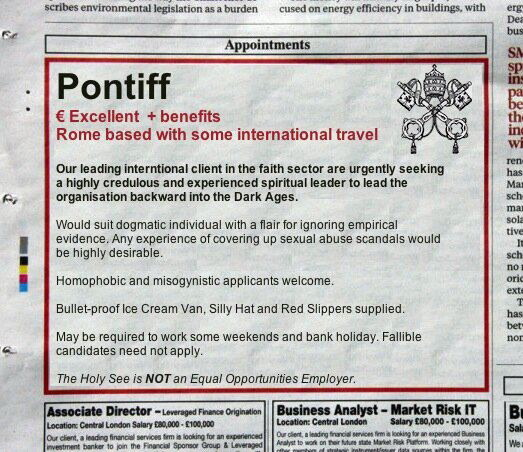 Pontiff ad