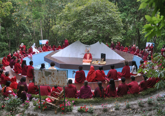 Meditation at Tapoban