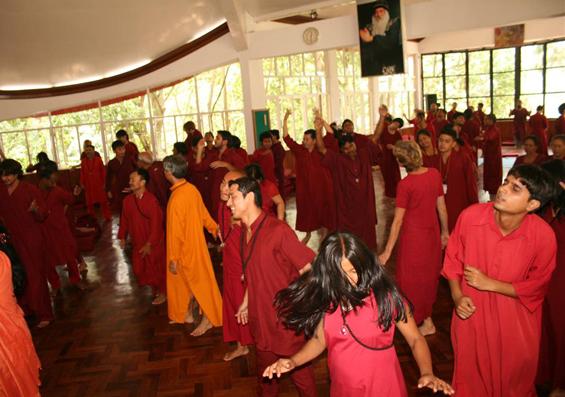 Meditation retreat at Tapoban, 20-26 May 2010