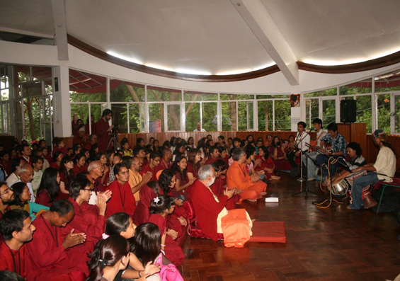 Buddha Purnima Celebration at Tapoban, 27th May 2010