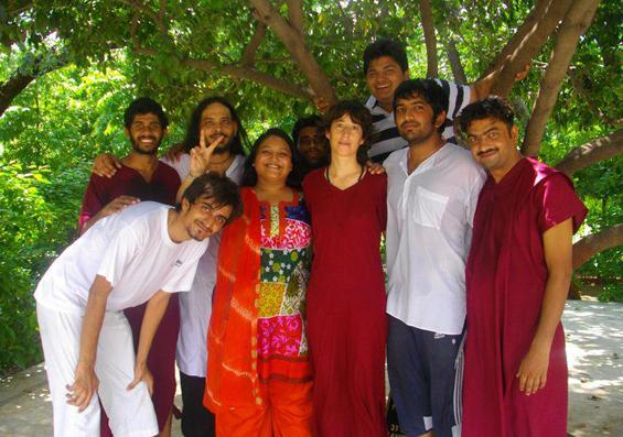 friends at Mehasana