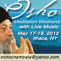 Meditation Weekend with Live Music, May 17-19 2013, Ithaca NY