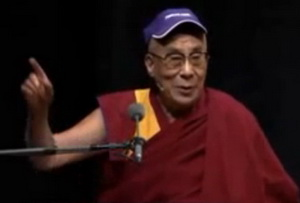 Dalai Lama Delivers Humorous Speech
