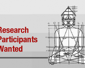 Participants for Meditation Research Required