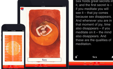 Osho Transformation Tarot in iTunes
