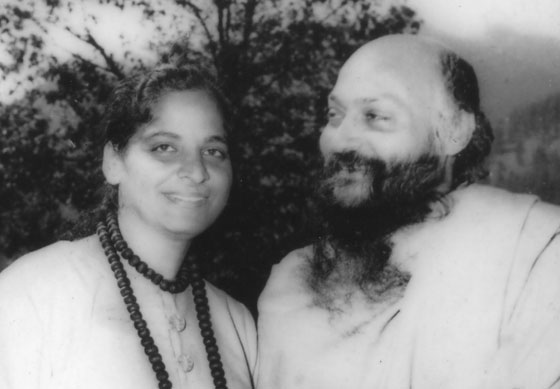 Ma Dhram Jyoti with Osho