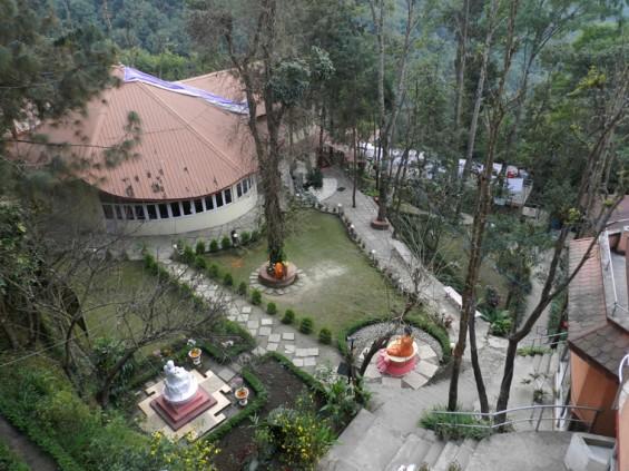 040 Mandir at Osho Tapoban 565x423 Into Nepal: Osho Tapoban Ashram