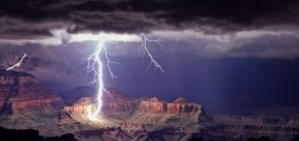 The Grand Canyon Lightshow