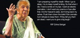 Zohra Sehgal – the Grand Old Lady of Bollywood