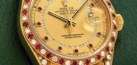 Osho's customized Rolex for sale at Antiquorum