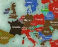 Europe's Most Common Surnames
