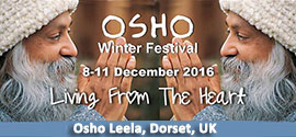 Osho Winter Festival Living from the Heart 8-11 December 2016