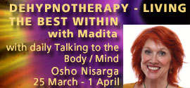 Dehypnotherapy - living the best within with Madita 25 March - 1 April