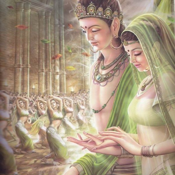 Siddhartha-marries-Yashodhara
