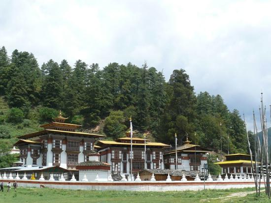 Kurjey Lhakhang monastery in Bhutan