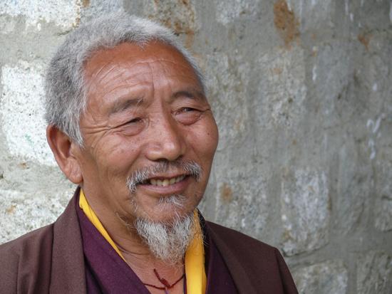 Bumthang monk