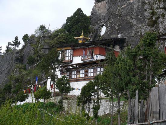 The rocks where Padmasambhava meditated
