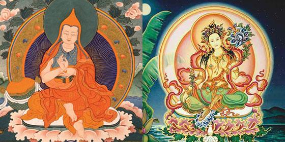 Asanga and Tara