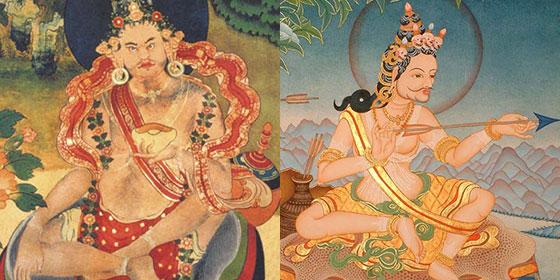 Naropa and Tilopa