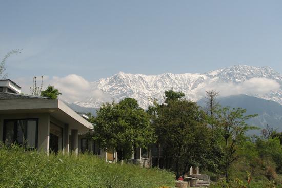 The Dhauladhar Himalayan Range