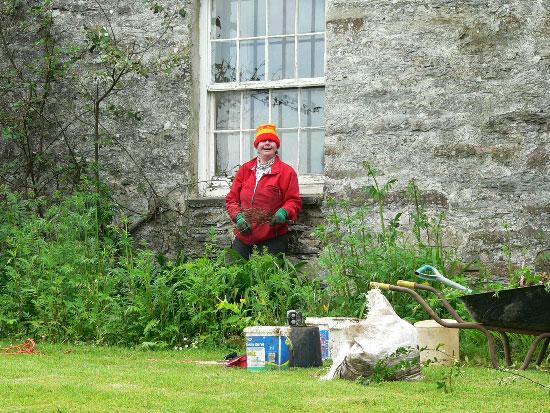 Smily gardener