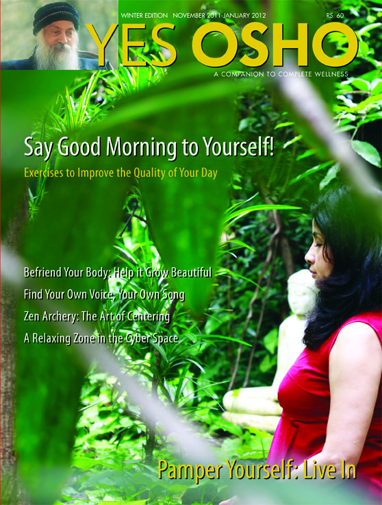 Yes Osho Cover Nov 2011