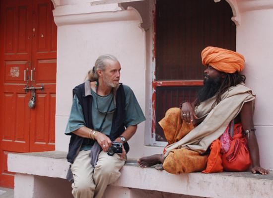 Photo opportunity, Kumbh Mela, Haridwar, India 2010
