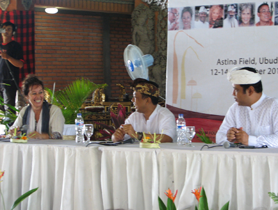Bhagawati on left