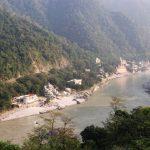 High above Laxman Jhula