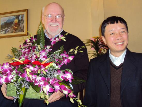 Shakyamuni and Mr. Viet