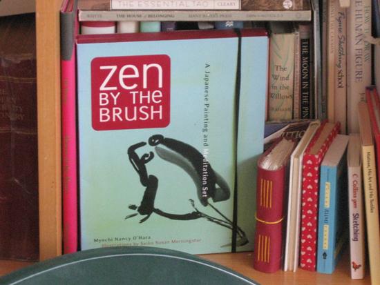 Zen book on painting