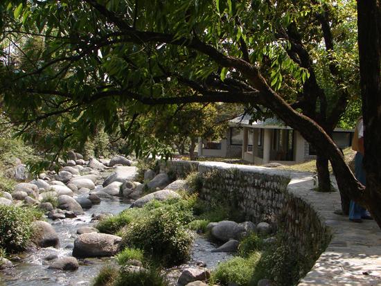 Meandering Zen walk