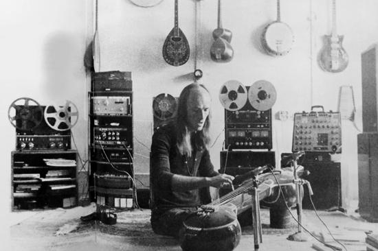 Georg Deuter in his Studio