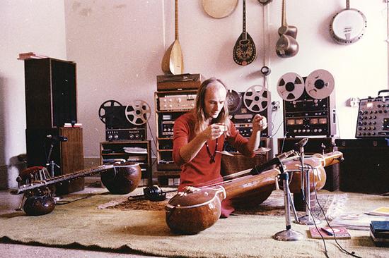 Georg Deuter - Chaitanya Hari in his studio