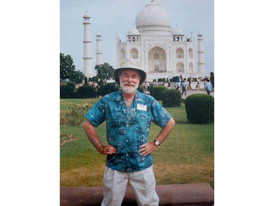 Sudheer as tour director, 2000