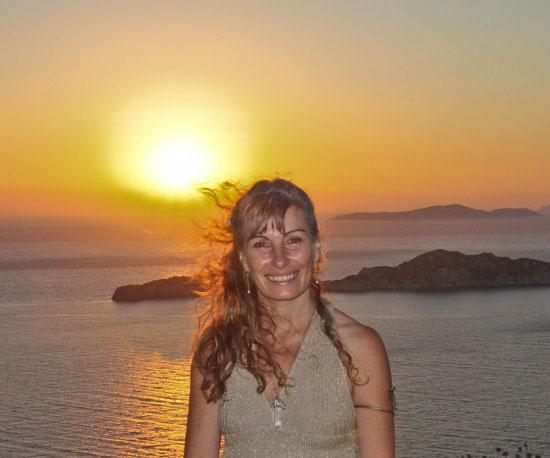 Sarita in Corfu 2010