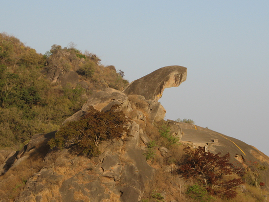 Toad Rock in Mt. ABu