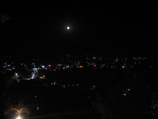 Full moon over Mt. Abu