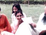 Manju in darshan
